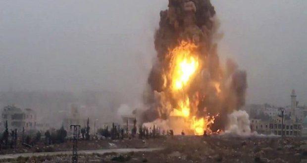 30 قتيلاً في تفجيرات مطار الشعيرات وشكوك برواية جيش النظام