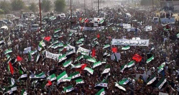 إعادة لانطلاق المظاهرات في سورية استعدادات لمظاهرة مليونية في إدلب