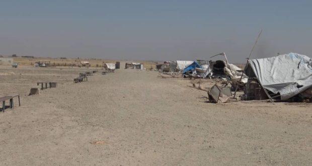 قسد تجرف سوق الأغنام في ال٤٧ التابعة للشدادي وسكانها يتظاهرون