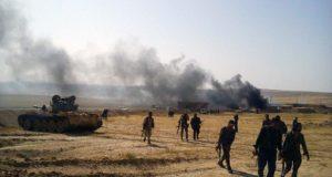 انسحاب الوطني من قرى في شمال الرقة وتقدم للمليشيات الكردية بدفع من نظام الأسد