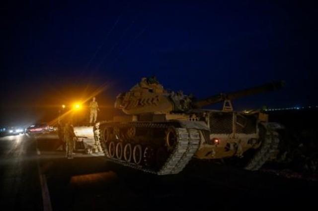 فرار آلاف المدنيين من البلدات السورية الحدودية مع بدء الهجوم التركي