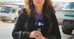 مراسلة قناة الآن الإماراتيّة تحرّض على الكراهيّة والإنتقام وتتوعد بمزيد من السيارات المفخخة في سورية