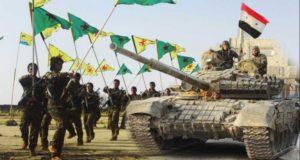 """جيش نظام الأسد يدعو عناصر """"قسد"""" للانضمام له بشكل فردي لمحاربة تركيا"""