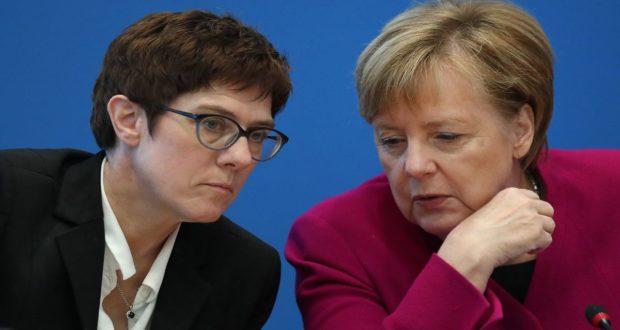 وزيرة الدفاع الألمانية تقترح منطقة أمنية في شمال سورية
