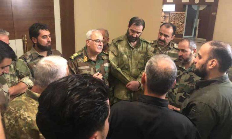 """هيكلية جديدة لـ""""الجيش الوطني"""" بعد الاندماج مع """"الجبهة الوطنية للتحرير"""""""