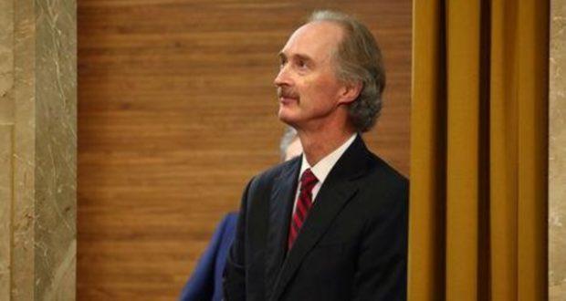بيدرسون: استئناف اللجنة الدستورية بجنيف في 25 نوفمبر الجاري
