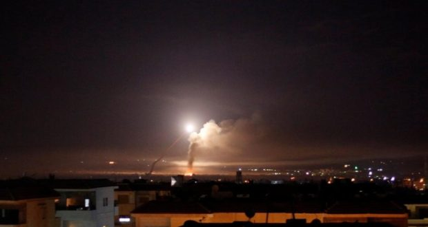 قصف إسرائيلي لنقاط عسكرية لجيش النظام والحرس الإيراني