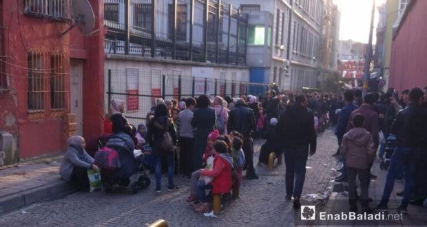 الداخلية التركية تكشف عدد السوريين المسجلين في اسطنبول