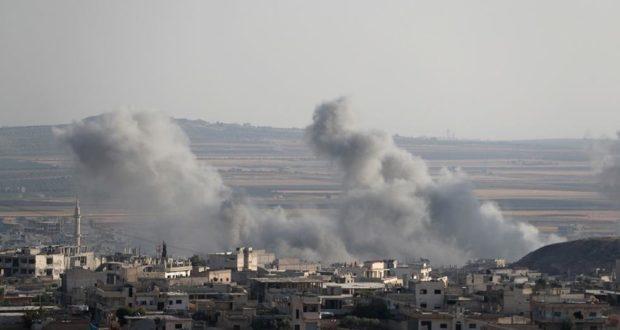 استشهاد 15 شخصاً على الأقل في ضربات جوية نفذته قوات الأسد على إدلب
