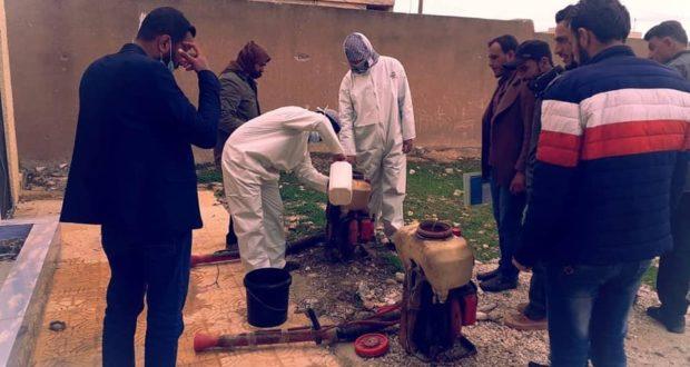 المليشيات الكردية تفرض حظراً للتجوال والصحة العالمية تتهم النظام بالكذب حول كورونا